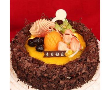 巧克力水果蛋糕/爱相随