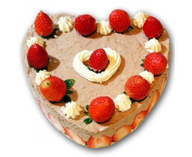 正方形手工制作蛋糕
